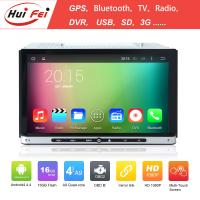 Buy cheap 2 Din Universal Touch Screen Car DVD Player Hui Fei Android 4.4.4 Car DVD Player Car GPS from wholesalers
