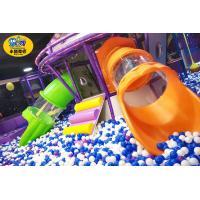 Buy cheap Commercial Play Center Playground Tube Slide Safe Fire Resistance from wholesalers