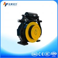 Buy cheap WTD1 375KG PM motor gearless traction machine no noise with elevator control board from wholesalers