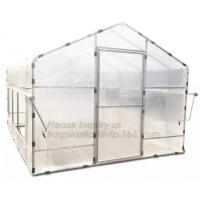 Buy cheap Agricultural Glass Green House for Commerical,Pop up Greenhouse Eco-friendly Fiberglass Poles Overlong Cover 98x49x53 from wholesalers