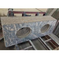 Buy cheap Easy Clean Stain Resistant Granite Vanity Tops / Granite Bathroom Countertops from wholesalers