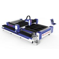 Buy cheap IP54 CNC Laser Metal Cutter Z Axis 250mm Max Positioning Speed 100m / Min from wholesalers