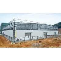 Buy cheap Hot - dipped Galvanized C & Z Beams Garage Steel Frame House-Light steel frames from wholesalers