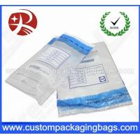 Buy cheap Security Custom Packaging Bag Pockets Sequential Number For Mailing from wholesalers