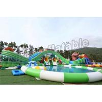 Buy cheap Fun Outdoor Amusement Park Inflatable Water Parks For Adults And Childrens product