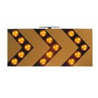 Buy cheap Sequencially 18V 3W Traffic Arrow Boards , Warning LED Solar Traffic Signs from wholesalers