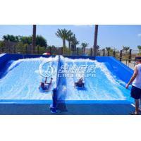Adults Skateboarding Surfing Simulator Fiberglass Water Slide for Summer Entertainment