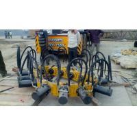Concrete Pile Cutting Machine , Excavator Hydraulic 0.6 - 1.8 m Dia Pile Breaker Machine