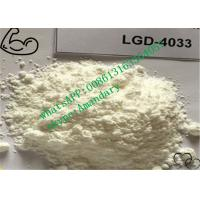 Buy cheap Raw SARMs Steroids LGD-4033 Powder CAS 1165910-22-4 for Bodybuilding from wholesalers