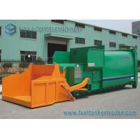 Buy cheap 12m3 Tipping Bucket Mobile Refuse Compactor Station With 6x4 Hook Lift Garbage Truck from wholesalers