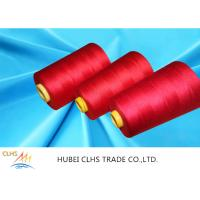 Buy cheap Super Bright Industrial Sewing Thread , Dyed Poly Sewing Thread Low Shrinkage from wholesalers