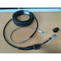 Buy cheap Armored fiber cable LC/UPC, LSZH jacket, FTTA patch cord, CPRI patch cord, PDLC connector, Fullaxs connector from wholesalers