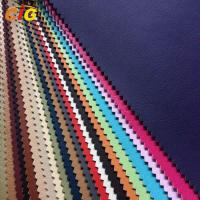Buy cheap Flame Retardant / Waterproof  Plain / Shiny PU Synthetic Leather Width 137cm product