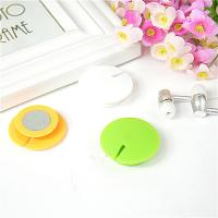 Buy cheap Outdoor ABS Magnetic Headphone Cable Management Green / Yellow from wholesalers