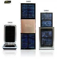 Buy cheap 1100mAh portable mobile battery solar chargers for iPhone from wholesalers