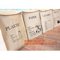 Buy cheap jute clothes store receive cube storage basket, Toys,Shoes,Clothes Organizing Jute Material Organizing Basket from wholesalers