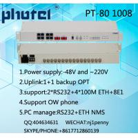 Buy cheap 8E1 PDH MUX, Dual power supply AC+DC, 75ohms from wholesalers