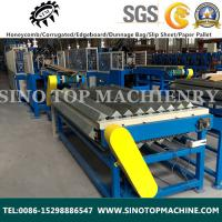 Buy cheap Paper Edge board machine|edge protector production line from wholesalers
