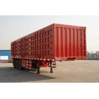 Buy cheap Comparment  Semi Trailer Express Cargo Box Semi Trailer Double Side Canvas Door Curtain Truck Trailer product