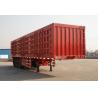 Buy cheap 3 Axle Big Box Trailers 60T Loading Cargo Use Aluminium Truck Van Semi Trailer from wholesalers