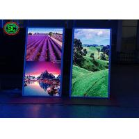 Buy cheap P2.5 P3 Poster Advertising LED Screens Asynchronous Control Shop Entrance Installation from wholesalers