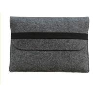 Buy cheap Business Leather / Felt Laptop Sleeve Carry Bag With Zipper Closure Custom Logo from wholesalers