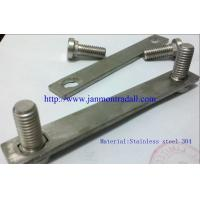 Buy cheap Stainless steel bolts,Stainless steel round head bolts,Stainless steel bolts with metal plates,Bolts with metal plates from wholesalers