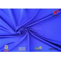 Buy cheap Sports Bra Polyester Spandex Fabric Swimwear Garment Material Weft Knitted from wholesalers