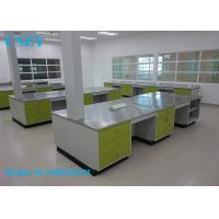 Buy cheap Full Steel School Lab Furniture Student Chemistry Lab Bench with Cabinet from wholesalers