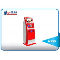 Buy cheap Electronic Multi Interactive Touch Screen Kiosk LED Digital Signage , Red from wholesalers