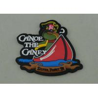 Buy cheap Canoe the Caney Promotional PVC Keychain 3D Design Soft PVC Injection from wholesalers