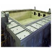 Buy cheap Large Scale Horizontal Flammability Testing Equipment Fire Resistance Test Furnace from wholesalers