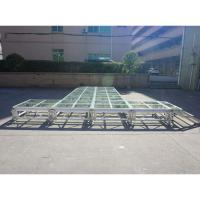 Buy cheap RK Height adjustable aluminum stage portable stage mobile stage from wholesalers