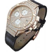 Buy cheap Sapphire Crystal 8K Gold Luxury Diamond Mechanical Automatic Watches For Men from wholesalers