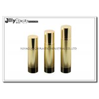 Buy cheap Height 161mm Airless Pump Bottles gold head cap bottle body cylinder foundation pump bottle from wholesalers