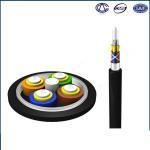 Buy cheap Waterproof GJA Pigtail Fiber Optic Cable / Black Single Mode Multimode Fiber Cable from wholesalers