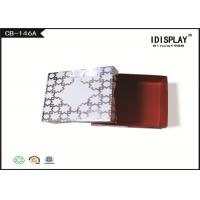 Buy cheap White Cardboard Jewelry Boxes / Decorative Christmas Gift Boxes SGS Approved from wholesalers