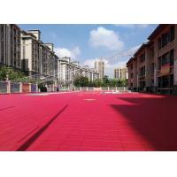 Buy cheap Polypropylene Outdoor Basketball Court Flooring Shock Absorbing Detachable from wholesalers