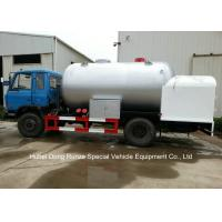 Buy cheap Road Bobtail LPG Gas Tanker With Mobile Dispenser , Bobtail Propane Delivery Truck from wholesalers