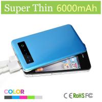 Buy cheap New Product Mobile Phone Battery Charger 6000 Mah Powerbank for Phones And Laptops from wholesalers