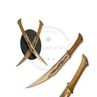 Buy cheap 19.3 moviesword the hobbit weapon replica tauriel fighting double knives from wholesalers