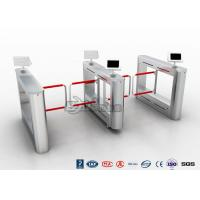 Buy cheap Flap Turnstile With Secure Visitor Registration 600mm Passager / 900mm Wheelchair Lanes product