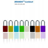 Buy cheap colored aluminum door high quality aluminum padlock with key alike from wholesalers