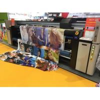 Buy cheap Three Print Head Digital Fabric Printing Machine Inkjet Sublimation Printing from wholesalers