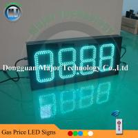 Buy cheap Double Side Outdoor RF Remote Control 4 Digits Petrol/Oil/Gas Price Display Sign for Gas Station from wholesalers