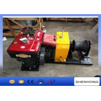 Buy cheap Wire Rope Pulling Diesel Cable Winch 10HP Rated Load Transmission Line Erection from wholesalers