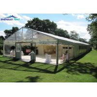 Buy cheap Clear Wedding Party Marquee Tent With Air Conditioner Flame Retardant DIN4102 B1 from wholesalers