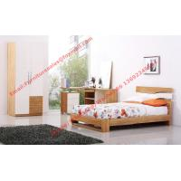 Buy cheap Modern Children bedroom furniture by KD structure Bed in white painting and Olive wood product