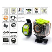 Buy cheap AG8800 WI-FI Action Camera 60 Meters Waterproof Gopro Hero3 Black Edition Style Diving Camera Watch Remote Control from wholesalers