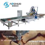 Buy cheap Yaskawa 850w Servo Motor CNC Wood Cutting Machine Aoshuo S9 White And Blue from wholesalers